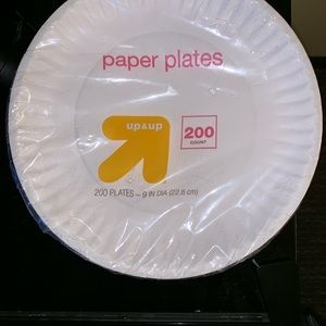 Everyday Paper Plates - 200ct. - Up&Up